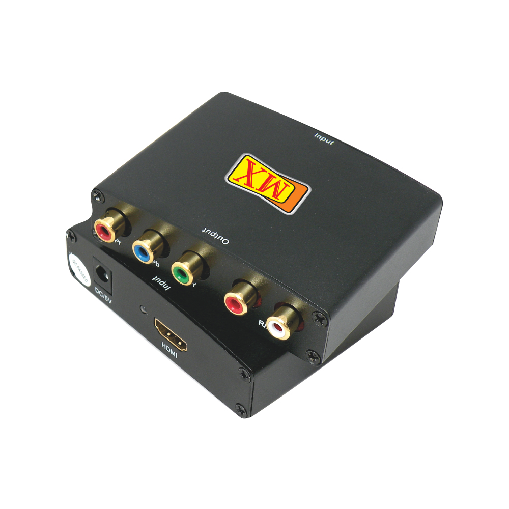 Mx Mdr Electronics Hdmi Cctv Camera Dvr Sdi Home Theater Wiring Accessories To Y Pb Pr R L Audio Convertor Converts