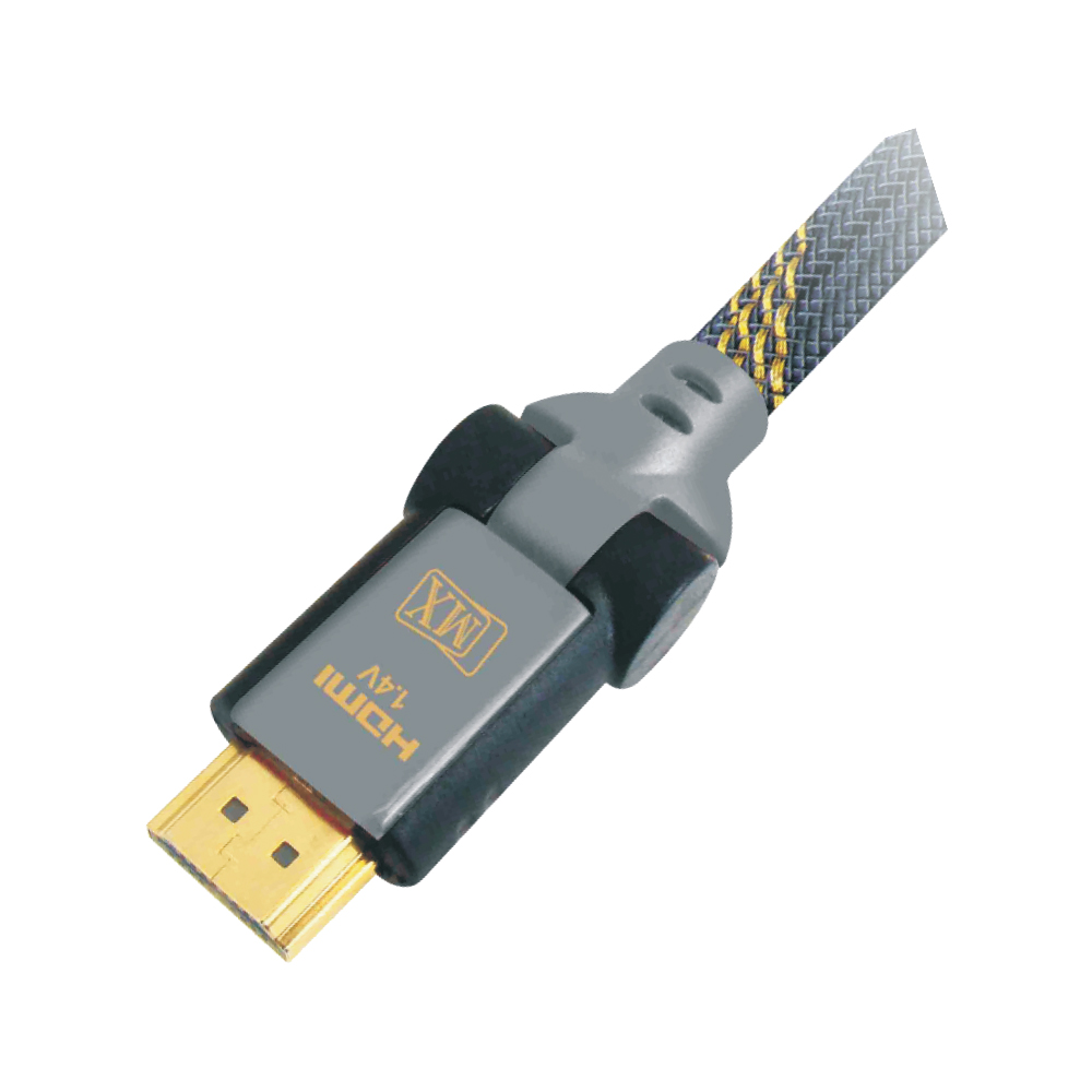 MX HDMI MALE TO HDMI MALE CORD - 1.4 VERSION - ROTATABLE 180° - 1.5 MTRS.